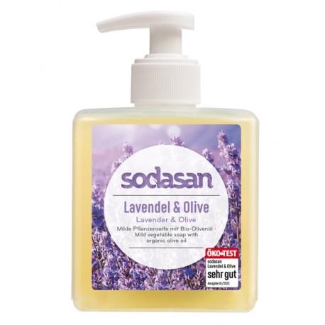 SODASAN LIQUID Lavendel-Olive